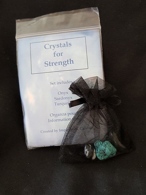 Crystals For Strength Set