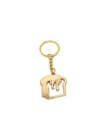 Gold Brique Keychain