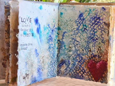 """Donna's Art Journal ~ """"Choose Love"""""""