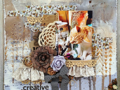 Creative Kitty Layout