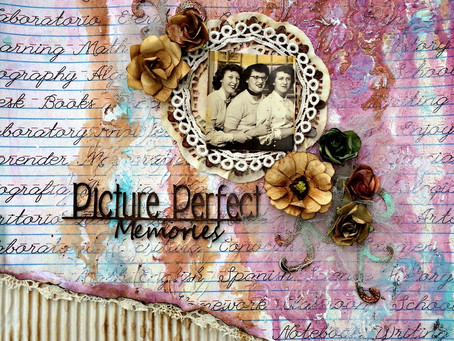 """Picture Perfect Memories"" Layout"