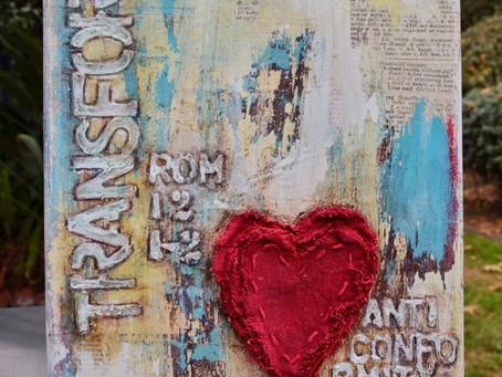 """Transform"" Mixed Media Painting"