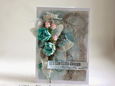 """It's the Little Things"" card"