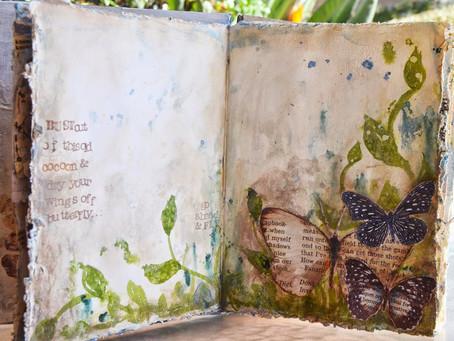 """Donna's Art Journal ~ """"Butterfly"""""""