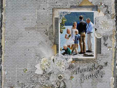 """Cherish Family"" Layout"