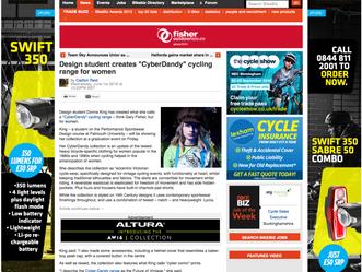 Another amazing article re: CyberDandy in BikeBiz