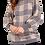 Thumbnail: 017 - Balloon Sleeve Knitted Jumper