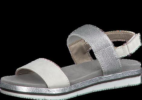 Marco Tozzi - 28621 - White / Silver Sandal