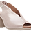 Thumbnail: Moda in Pelle - Mirello - Nude, Leather, Slingback Sandal with Block Heel