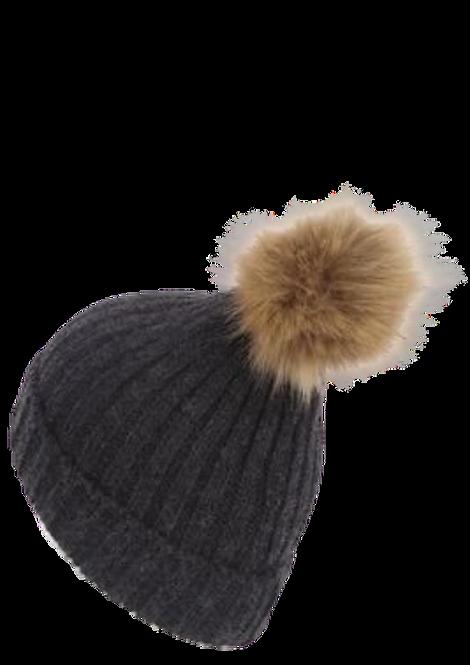 501 - Pom Pom Beanie Hat