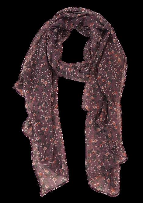 5014 - Lavender Ditsy Floral Scarf