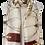 Thumbnail: 557 - Elegant Tassle and Buckle Print Silk Scarf