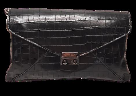 Marco Tozzi - 61024 - Black Croc Clutch