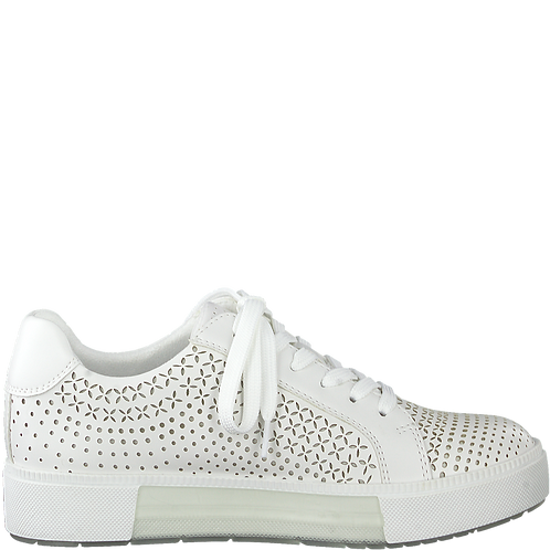Marco Tozzi - 23789 - Cut Out Detail Trainers in White