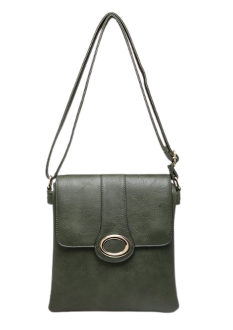 Z-1910 - Green Loop Crossbody bag