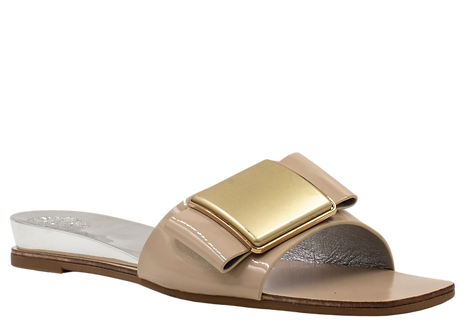 Betsy - 907728 - Nude Mule With Gold Embellishment