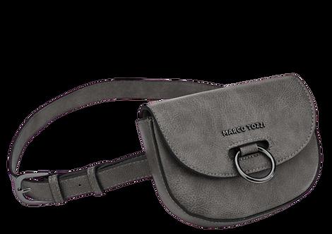 Marco Tozzi - 61007 - Grey Hoop Crossbody Waist Bag