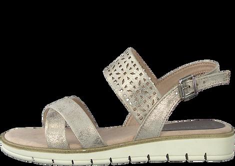 Marco Tozzi - 28600 - Rose Metallic Sandal With Cutout Panel