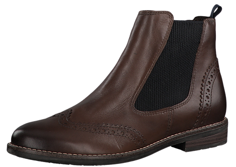 Marco Tozzi - 25365 - Brown Leather Ankle Boot