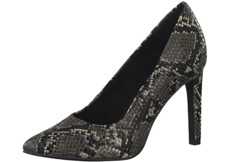 Marco Tozzi - 22453 - Snake Print Court Shoe