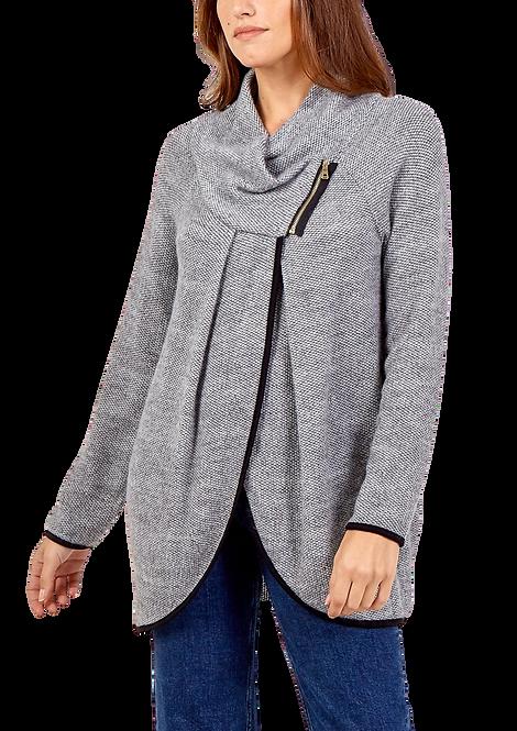 023 - Zip Front Asymmetric Jacket
