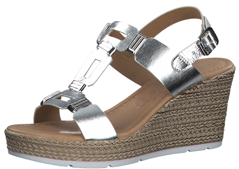 Marco Tozzi - 28355 - Silver Link Wedge