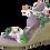 Thumbnail: Tamaris - 28300 - Floral Wedge Sandal