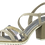 Thumbnail: Marco Tozzi - 28712 - Block Heeled Sandal With Contrast Straps