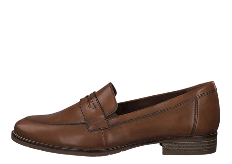 Tamaris - 24215 - Brown Leather Loafer