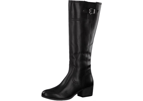 Marco Tozzi - 25500 - Black Leather Long Boot