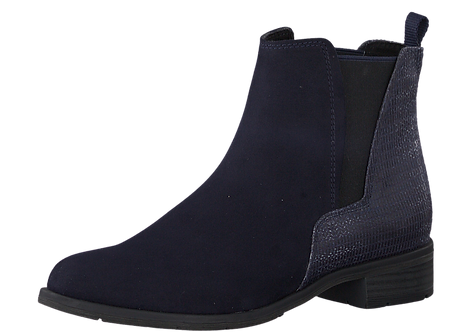 Marco Tozzi -25321 - Navy Ankle Boot