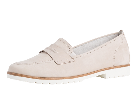 Tamaris - 24207 - Light Grey, Leather Loafer