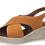Thumbnail: Marco Tozzi - 28343 - Leather Crossover Wedge in Mango
