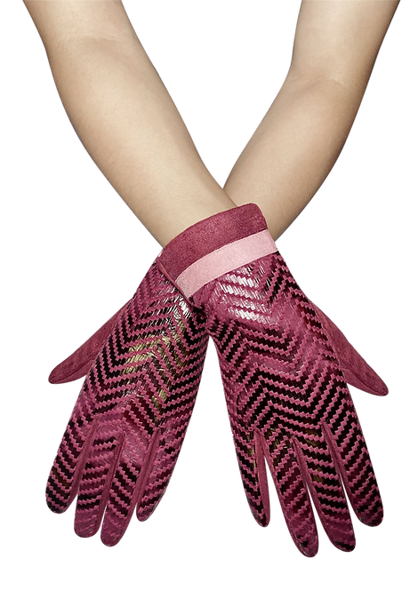 542 - Snakeskin, Touchscreen Gloves