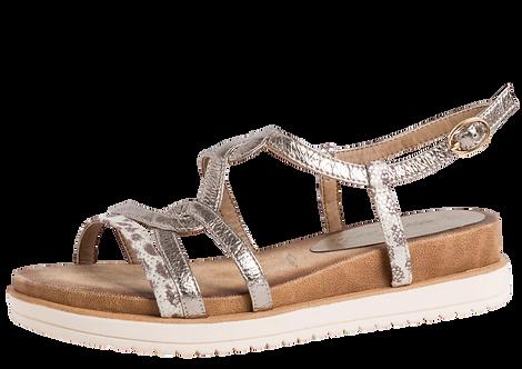 Tamaris - 28200 - Wedge Sandal Leopard Print Detail