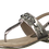 Thumbnail: Marco Tozzi - 28102 - Pewter, Link, Toe Post Sandal and Ankle Fastening