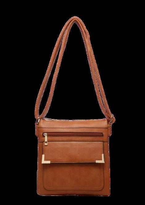 A36180 - Brown Crossbody Bag