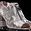 Thumbnail: Moda In Pelle - Loelia - Block Heeled Sandal in Metallic Snakeskin