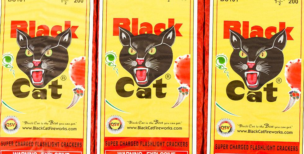 200 Black Cat Firecrackers