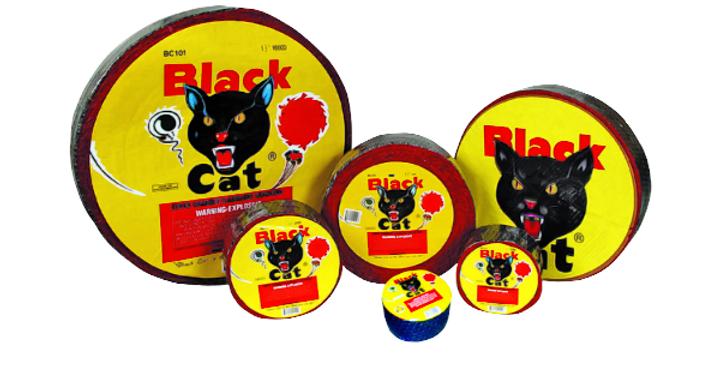1000 Black Cat Firecracker Roll