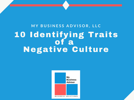 10 Identifying Traits of a Negative Culture