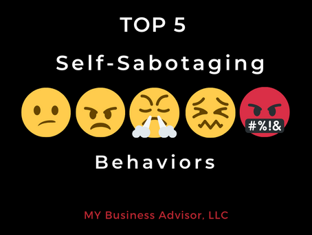 Top 5 Self-Sabotaging Behaviors