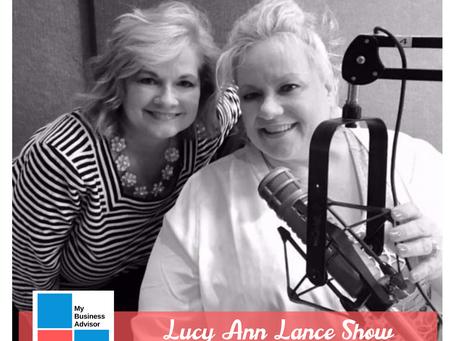 MY Business Advisor on the Lucy Ann Lance Show