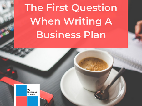 The First Question When Writing A Business Plan