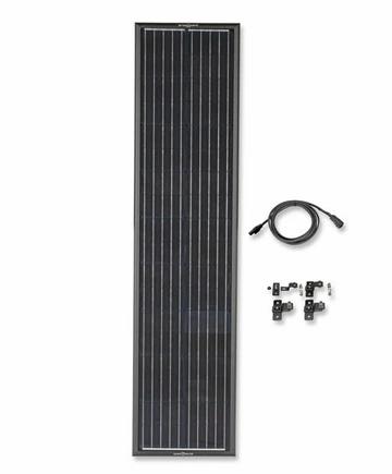 Zamp OBSIDIAN® SERIES 90 Watt Long Solar Panel Kit