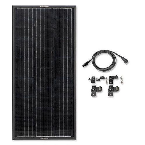 Zamp OBSIDIAN® SERIES 100 Watt Solar Panel Kit