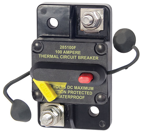 100Blue Sea Systems 285 Series 100A Surface Mount Resettable Circuit Breaker