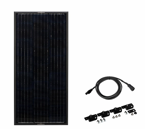 Zamp OBSIDIAN® SERIES 45 Watt Solar Panel Kit