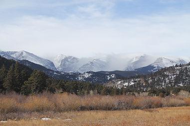 Estes Valley Mountain Range