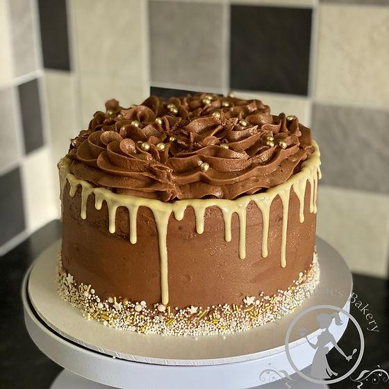 Birthday - Chocolate sparkle 8 inch 2020
